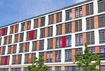 privatization: Giessen, Germany, September 2, 2012: Facade of the University Hospital Giessen