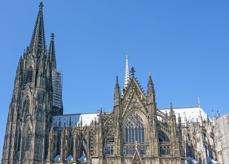 dom: Cologne Cathedral Stock Photo