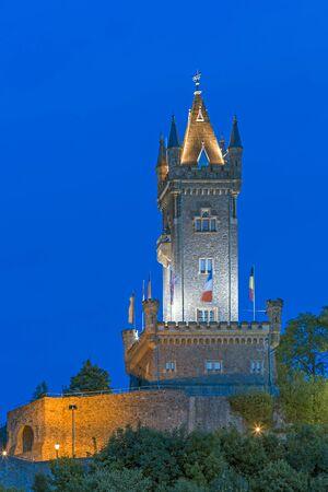 orange nassau: Old castle of Dillenburg Wilhelmsturm