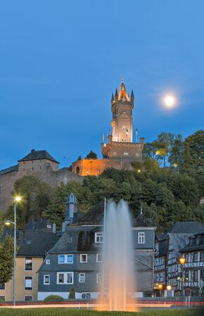 orange nassau: Dillenburg, Germany - August 26, 2015: Landmarks of Dillenburg