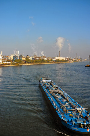 化学メーカー BASF SE の Ludwishafen, ドイツ - 2015 年 9 月 21 日: 工場