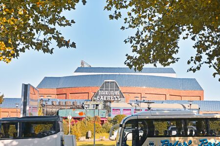 starlight: Bochum, Germany - October 11, 2015: Theater of the famous Starlight Express Musical in Bochum