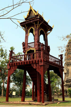 localities: Reproduce of tower, Thailand Stock Photo