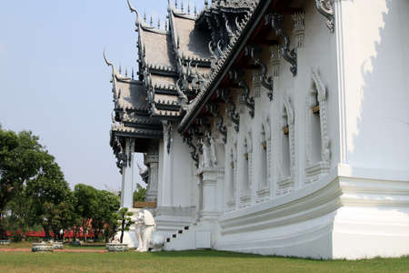 localities: Reproduct temple, Thailand Stock Photo