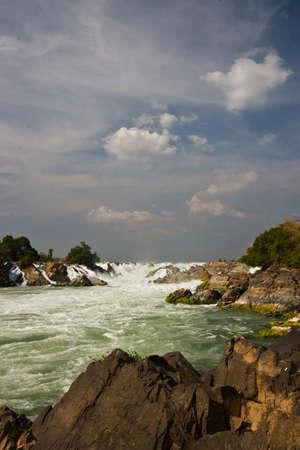 cataract: Cataract in Makhong river