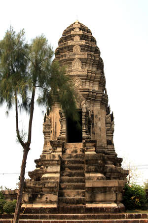 localities: reproduce of ancient temple, thailand Stock Photo