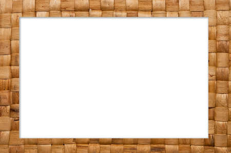 frame of weave reed photo