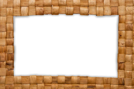 frame of weave reed Stock Photo - 7472012