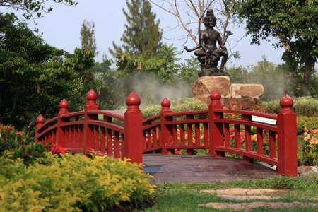 localities: wooden bridge