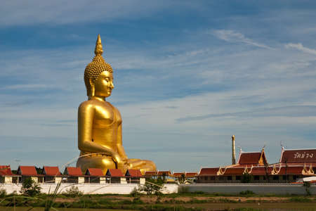 big buddha in thailand Stock Photo - 7706925