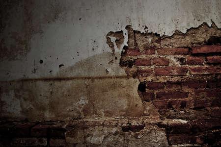 brink: Grunge brink wall Stock Photo