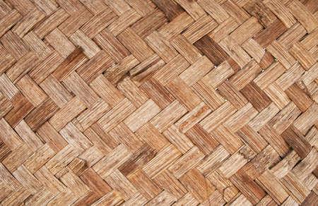 Gewebte Textur von Bambus