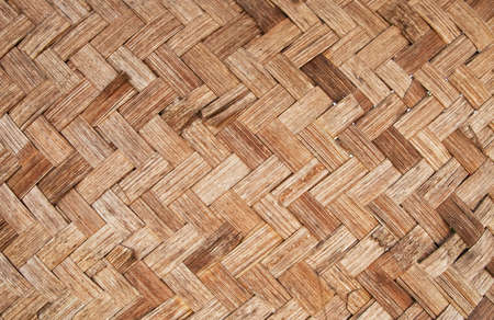 woven surface: Textura de bamb� tej�a Foto de archivo