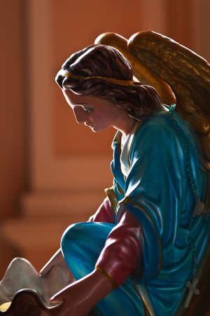 Mary catholic statue photo