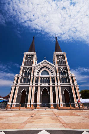 Catholic church in Thailand photo