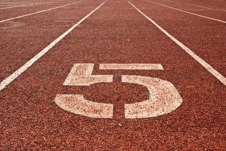 5th running track background photo