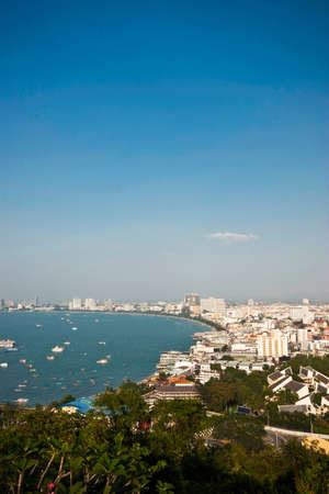 Pattaya bay in Thailand photo