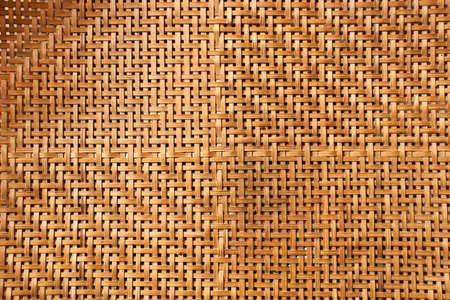 Texture of bamboo weave background photo