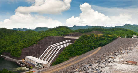 Srinakarind dam, Thailand photo