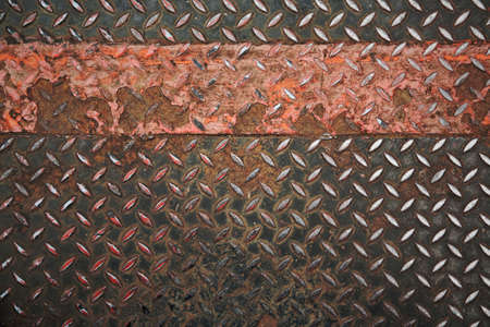 Grunge metal plate floor background Stock Photo - 10432315
