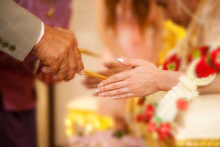 Thailand wedding ceremony traditional photo