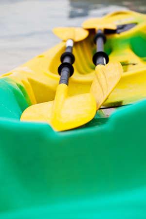 cayak: Closeup cayak boat