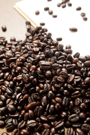 blackness: Coffee beans