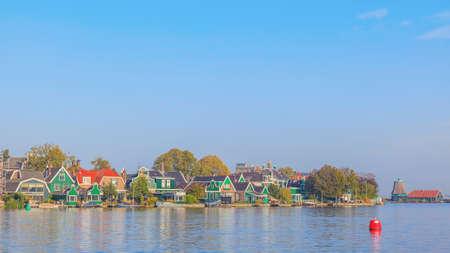 zaan: Colourful Dutch townhome at Zaaneschans, The Netherlands