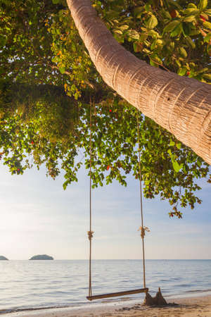 island paradise: Tropical sea beach at Koh Change island, Thailand