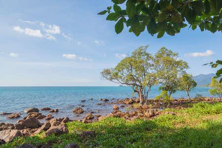 Tropical sea beach at Koh Change island, Thailand