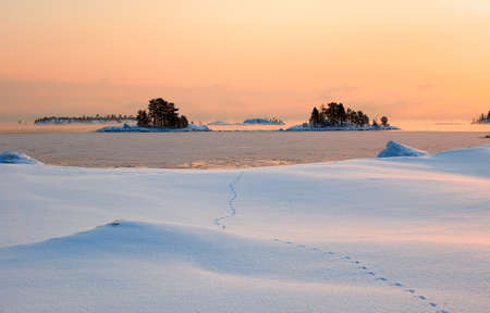 ladoga: Winter Ladoga Stock Photo