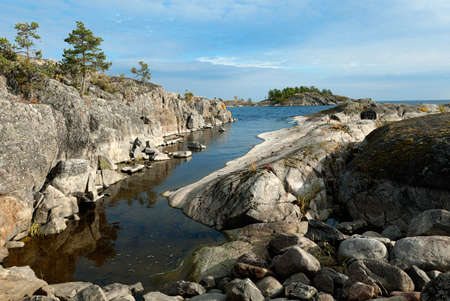 shore: stony shore