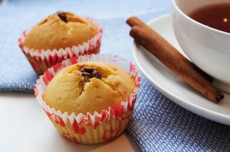 Home-made baking cupcakes