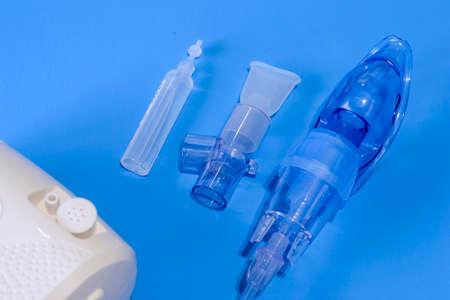 Medical nebulizer for the treatment of bronchitis.