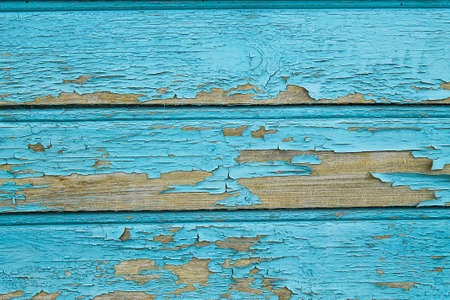 Texture of old painted wooden wall
