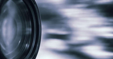 Professional photography lenses and macro Stock Photo