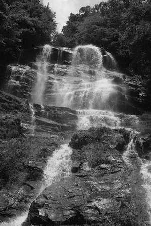 Amicalola Falls Zdjęcie Seryjne