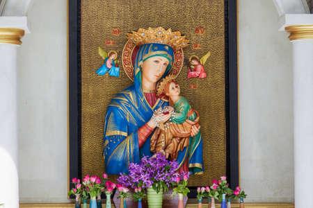 bless virgin mary