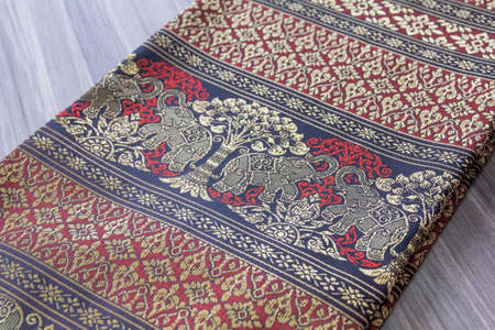 sarong: sarong thai Stock Photo