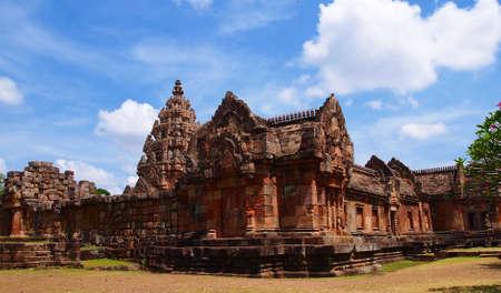 Phanomrung Stone Castle, Thailand Stock Photo - 15670975