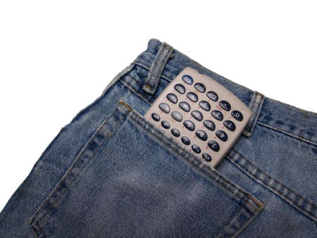 Jeans and calculator