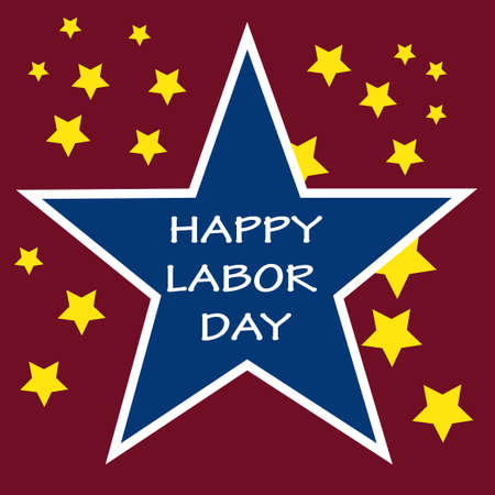 Labor Day Background Stock Vector - 21883123