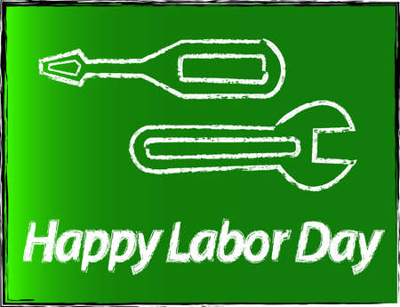 Labor Day Background Stock Vector - 21883156