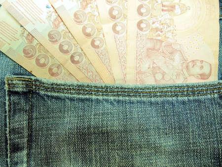 corruptible: Money pockets Stock Photo