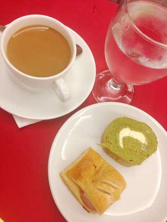 Coffee and Thai sweet