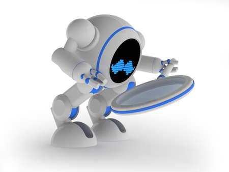 Robot seeking Stock Photo - 14269667