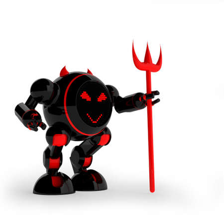 daemon: Daemon robot Stock Photo