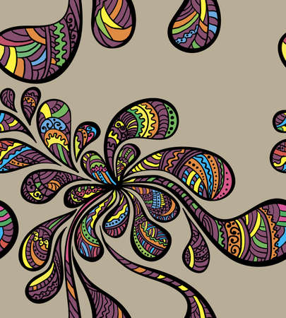paisley pattern: Seamless paisley Illustration
