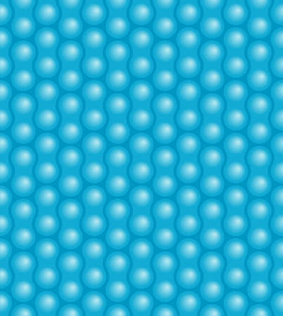 Seamless bubble pattern Vector