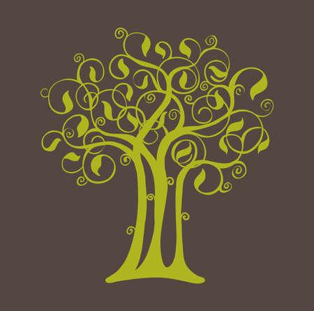 Abstract tree Illustration